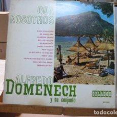 Discos de vinilo: ALFREDO DOMENECH Y SU CONJUNTO 25CM TOCA PENNY LANE DE THE BEATLES. Lote 171450335