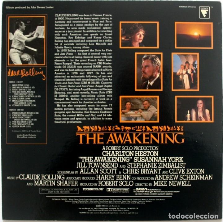 Discos de vinilo: EL DESPERTAR. THE AWAKENING. CLAUDE BOLLING - Foto 2 - 171450384