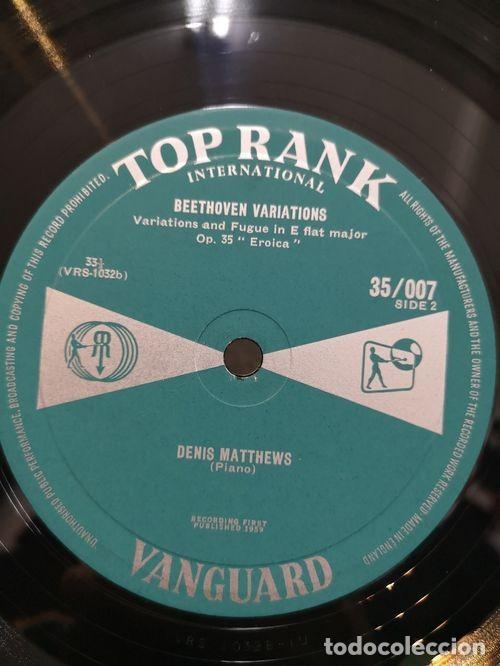 Discos de vinilo: DENIS MATTHEWS - PLAYS BEETHOVEN VARIATIONS - LP # - Foto 2 - 171450733