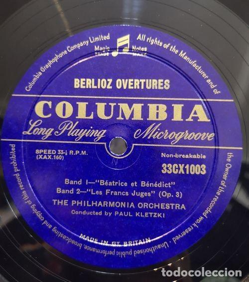 Discos de vinilo: PAUL KLETZKI & THE PHILARMONIA ORCHESTRA - BERLIOZ OVERTURES - LP # - Foto 2 - 171450908