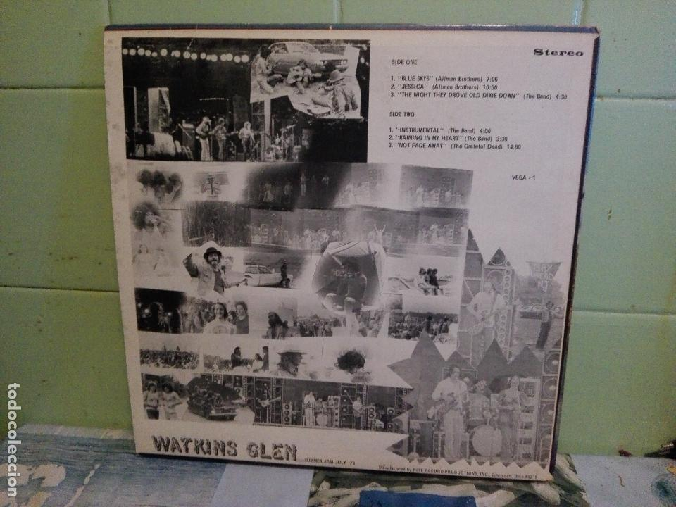 Discos de vinilo: VARIOS - ROCK 70S COSTA OESTE USA WATKINS GLEN - SUMMER JAM 7/73 LP USA 1973 PEPETO TOP - Foto 2 - 171453258