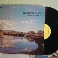 Discos de vinilo: VARIOS - ROCK 70'S COSTA OESTE USA WATKINS GLEN - SUMMER JAM 7/73 LP USA 1973 PEPETO TOP. Lote 171453258