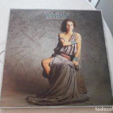 Discos de vinilo: ANA BELÉN. GEMINIS (LP). Lote 171472777