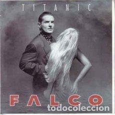 Discos de vinilo: FALCO - TITANIC. Lote 171474128