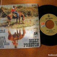 Discos de vinilo: DISCO DE BILLY PRESTON ,FUERA DE ORBITA ,AÑO 1972. Lote 171486774