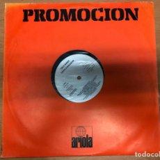 Discos de vinilo: LP PROMOCIONAL PACO IBAÑEZ CANTA A BRASSENS LEVEL BLANCO 1979 ARIOLA. Lote 171489767