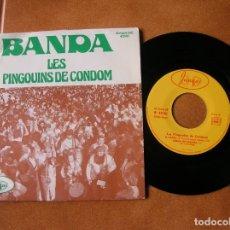 Discos de vinilo: DISCO BANDA ,LES PINGOUINS DE CONDOM EN ARMAGNAC . Lote 171512970