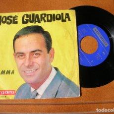 Discos de vinilo: DISCO DE JOSE GUARDIOLA ,LA MAMMA , Y SAPORE DI SALE. Lote 171522399