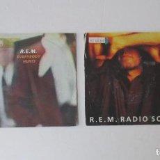 Discos de vinilo: DOS DISCOS DE R.E.M.. Lote 171522528