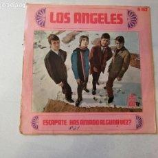 Discos de vinilo: DISCO DE LOS ANGELES.ESCAPATE-HAS AMADO ALGUNA VEZ?. Lote 171528667
