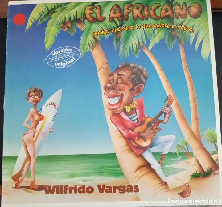 MAMI QUE SERÁ LO QUE QUIERE EL NEGRO - WILFRIDO VARGAS ESPAÑA 1985 - VG+ (Música - Discos de Vinilo - Maxi Singles - Étnicas y Músicas del Mundo)