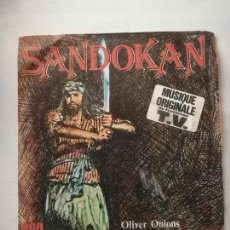 Discos de vinilo: DISCO DE SANDOKAN.. Lote 171535637