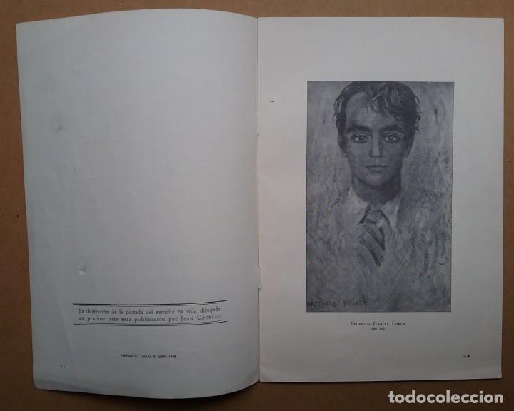 Discos de vinilo: YERMA GARCIA LORCA 2 LPS ESTUCHE ILUSTRADO JEAN COCTEAU - Foto 3 - 171542707