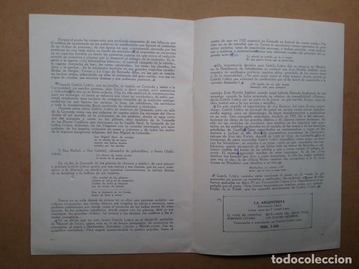 Discos de vinilo: YERMA GARCIA LORCA 2 LPS ESTUCHE ILUSTRADO JEAN COCTEAU - Foto 4 - 171542707
