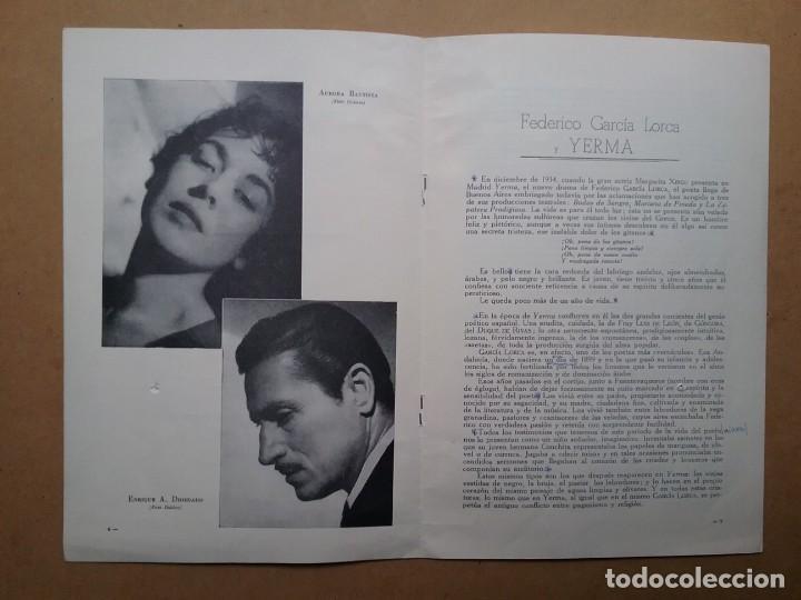 Discos de vinilo: YERMA GARCIA LORCA 2 LPS ESTUCHE ILUSTRADO JEAN COCTEAU - Foto 7 - 171542707