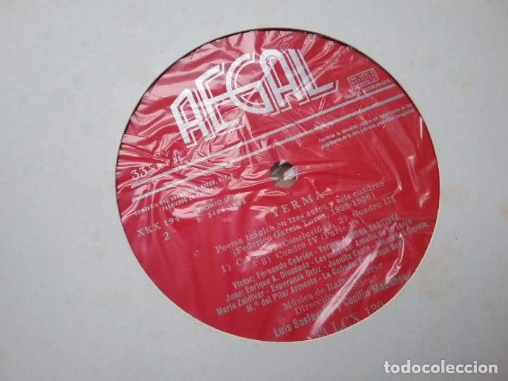 Discos de vinilo: YERMA GARCIA LORCA 2 LPS ESTUCHE ILUSTRADO JEAN COCTEAU - Foto 10 - 171542707