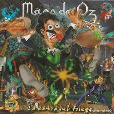 Discos de vinilo: MAGO DE OZ CD SINGLE LA DANZA..2001 AVALANCH-SAUROM-IRON MAIDEN (COMPRA MINIMA 15 EUR). Lote 171550315