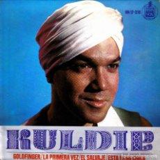 Discos de vinilo: KULDIP - GOLDFINGER + LA PRIMERA VEZ + EL SALVAJE + ESTA ES MI CHICA EP 1965 SPAIN. Lote 171550505