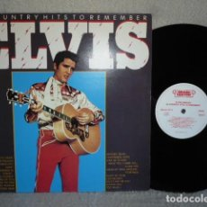 Discos de vinilo: ELVIS 20 COUNTRY HIST TO REMEMBER. Lote 171570764