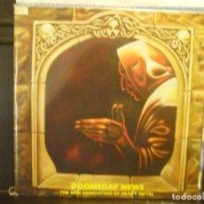 Discos de vinilo: KREATOR CORONER CELTIC FROST TANKARD Y MAS... DOOMSDAY NEWS ALBUM LP NOISE 1988. Lote 171573887