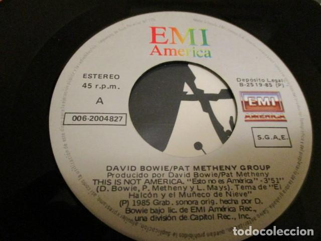Discos de vinilo: DAVID BOWIE - 3 MAXI + 3 SINGLES - CHINA GIRL + BLUE JEAN + DAY IN DAY OUT - FASHION - Foto 5 - 171580047