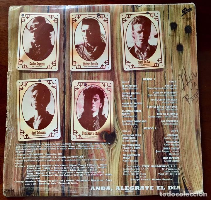 Discos de vinilo: Los Rebeldes. Preferiblemente Vivos. - Foto 2 - 171582498