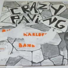 Discos de vinilo: DISCO SINGLE VINILO CRAZY PAVING . BILLY KRLOFF BANS . CARATULA ROTA . Lote 171588320