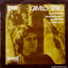 Discos de vinilo: CAMILO SESTO, AY AY ROSETA. EP 4 CANCIONES SOLO PARA SUSCRIPTORES DEL CÍRCULO DE LECTORES. Lote 171590182