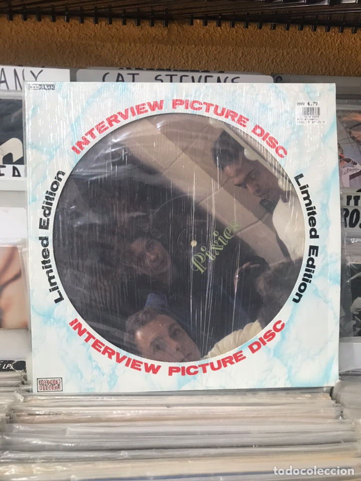 PIXIES INTERVIEW PICTURE DISC LIMITED EDITION (Música - Discos - LP Vinilo - Pop - Rock - New Wave Extranjero de los 80)