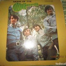 Discos de vinilo: THE MONKEES - MORE OF THE MONKEES LP - ORIGINAL U.S.A. - COLGEMS RECORDS 1967 - MONOAURAL -. Lote 171594689