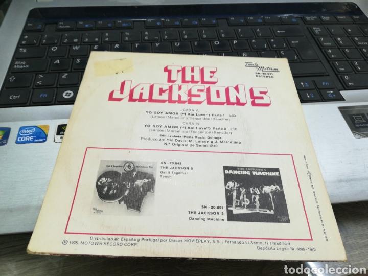 Discos de vinilo: The Jackson 5 single yo soy amor España 1975 - Foto 2 - 171595517