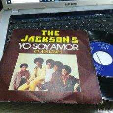 Discos de vinilo: THE JACKSON 5 SINGLE YO SOY AMOR ESPAÑA 1975. Lote 171595517