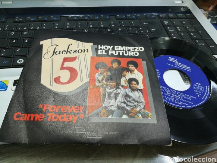JACKSON 5 SINGLE HOY EMPEZÓ EL FUTURO ESPAÑA 1975 (Música - Discos - Singles Vinilo - Funk, Soul y Black Music)