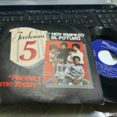 Discos de vinilo: JACKSON 5 SINGLE HOY EMPEZÓ EL FUTURO ESPAÑA 1975. Lote 171595823