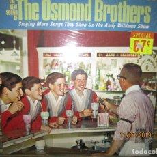 Discos de vinilo: THE OSMOND BROTHERS - THE NEW SOUND OF LP - ORIGINAL U.S.A. - M.G.M. RECORDS 1965 - MONOAURAL . Lote 171597439