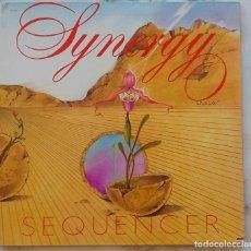Discos de vinilo: SYNERGY. SEQUENCER. LP USA PASSPORT RECORDS. PORTADA ABIERTA.. Lote 171598992