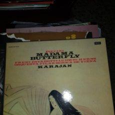 Discos de vinilo: PUCCINI MADAMA BUTTERFLY KARAJAN. Lote 171610433