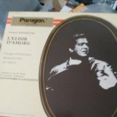 Discos de vinilo: GAETANO DONIZETTI CAJA CON TRES LP. Lote 171610654