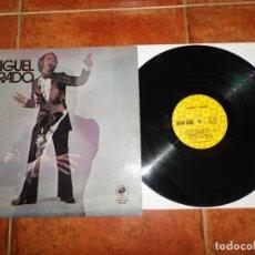 Discos de vinilo: MIGUEL JURADO RIO POR MEDIO LP VINILO DEL AÑO 1972 USA CONTIENE 12 TEMAS. Lote 171611540
