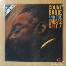 Discos de vinilo: COUNT BASIE - COUNT BASIE AND THE KANSAS CITY 7 - GATEFOLD - LP. Lote 171620337