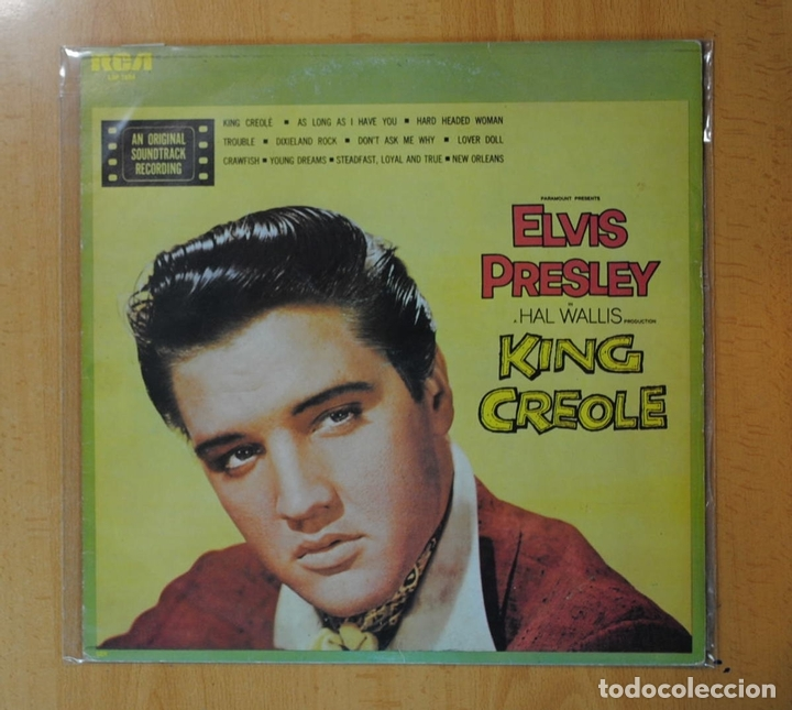 ELVIS PRESLEY - KING CREOLE - BSO - LP (Música - Discos - LP Vinilo - Bandas Sonoras y Música de Actores )