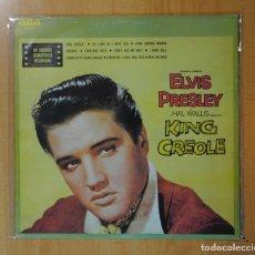 Discos de vinilo: ELVIS PRESLEY - KING CREOLE - BSO - LP. Lote 171620888
