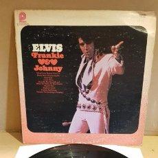 Discos de vinilo: ELVIS PRESLEY / FRANKIE & JOHNNY / LP - PICKWICK-1976 / LEVES MARCAS. **/**. Lote 171624243