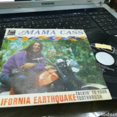 Discos de vinilo: MAMA CASS SINGLE CALIFORNIA EARTHQUAKE ESPAÑA 1968. Lote 171626269