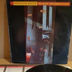 Discos de vinilo: DEPECHE MODE / BLACK CELEBRATION / LP - MUTE RECORDS-1986 / MBC. ***/***. Lote 171626312