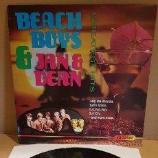Discos de vinilo: BEACH BOYS AND JAN & DEAN / GREATEST HITS / LP - SUCCES-1989 / MBC. ***/***. Lote 171626900