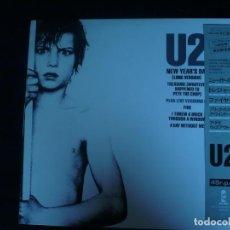 Discos de vinilo: U2 NEW YEAR'S DAY - DISCO JAPONES - LP COMO NUEVO. Lote 171628457