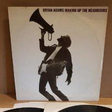 Discos de vinilo: BRYAN ADAMS / WAKING UP NEIGHBOURS / DOBLE LP - AM RECORDS-1991 / MBC. ***/***. Lote 171628509