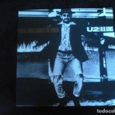 Discos de vinilo: U2 WITH B.B. KING - LP COMO NUEVO. Lote 171628925