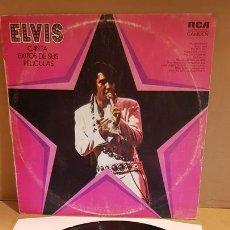Discos de vinilo: ELVIS CANTA ÉXITOS DE SUS PELÍCULAS / LP - RCA CANDEM-1974 / MBC. ***/***. Lote 171629524